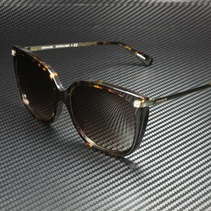 COACH Brown 56mm Sunglasses